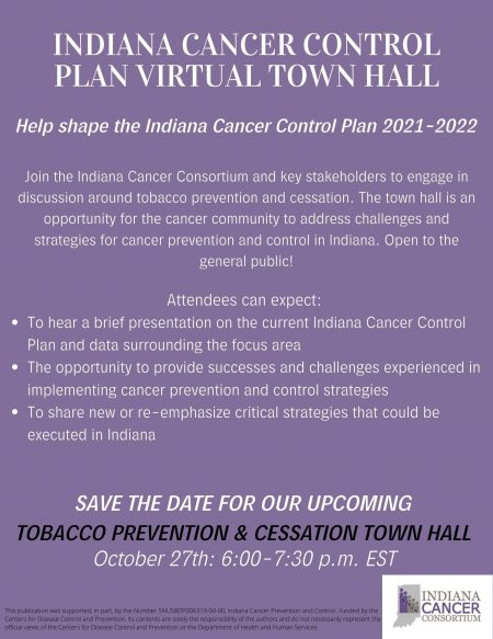 Tobacco Prevention and Cessation Town Hall